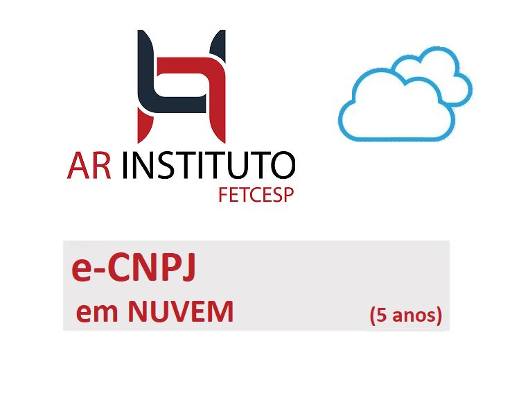 PRONUVEM E-CNPJ A3 (5 ANOS)